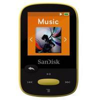 SanDisk MP3 Sansa Clip Sports 8 GB (123874) žlutá