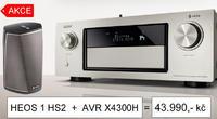 Denon AVR-X4300H + HEOS 1 HS2