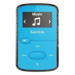 SanDisk MP3 Sansa Clip JAM 8 GB (139707) jasně modrá