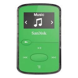 SanDisk MP3 Sansa Clip JAM 8 GB (139708) jasně zelená