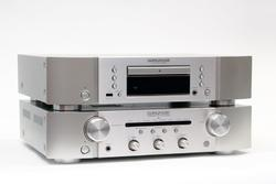 Marantz CD6006 + PM6006 Silver-Gold - 1