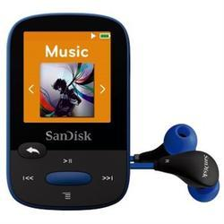 SanDisk MP3 Sansa Clip Sports 8 GB (123871) modrá - 2