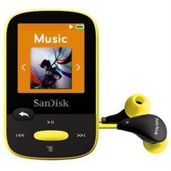 SanDisk MP3 Sansa Clip Sports 8 GB (123874) žlutá - 2
