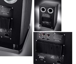 HECO Music Style Sub 25A Black piano/Ash Decor Black - 2
