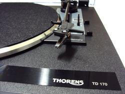Thorens TD 170-1 stříbrná - 2