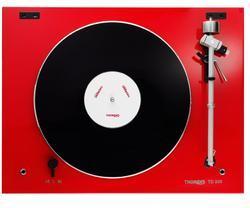 Thorens TD 206 červená high gloss - 2