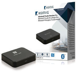 König CSBTRCVR110 Audio prijímač Advanced Bluetooth SPDIF čierna - 4