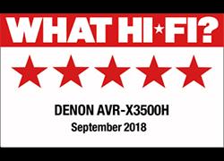 Denon AVR-X3500H - 5