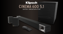 Klipsch Cinema 600 5.1 - 6